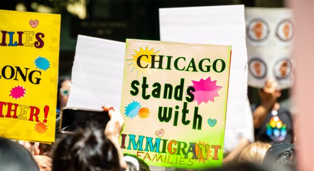 Chicago rally
